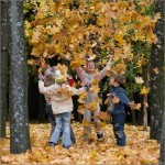 Осенние краски на наших детях