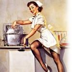 А как вы за плитой на кухне ухаживаете?