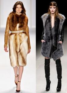 Модные дубленки 2013