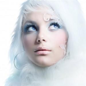 Секреты зимнего макияжа