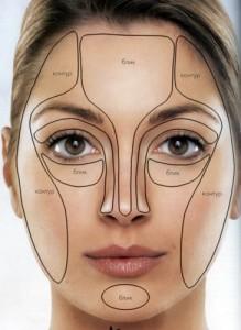 Как правильно затонировать лицо?
