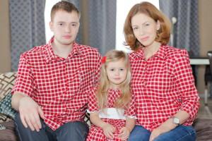 Особенности стиля одинаковой одежды для всей семьи