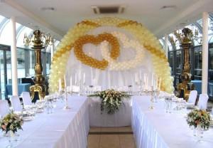 Как оформить зал для свадьбы