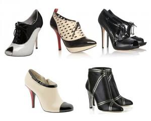 Основные тенденции моды обуви осенью 2013
