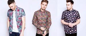Рубашка с забавными узорами освежает классический мужской стиль