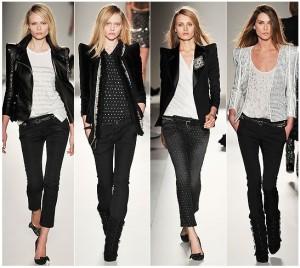 С чем носить черные джинсы: советы от Mario Muzi