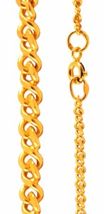 Широкие цепочки на шею из драгоценных металлов привлекут внимание, подчеркнут статус