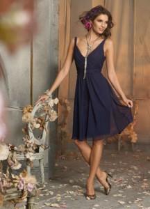 Новые модные платья для подружки невесты
