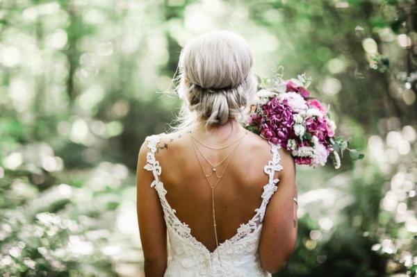 Самые популярные свадебные прически