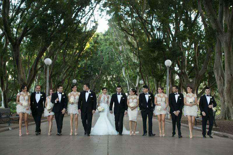 гламурний весілля