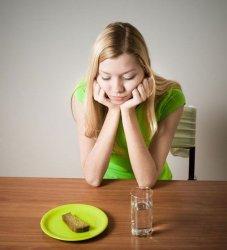 Вред голодания
